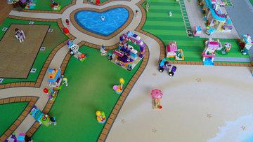 Speelmat voor Lego Friends