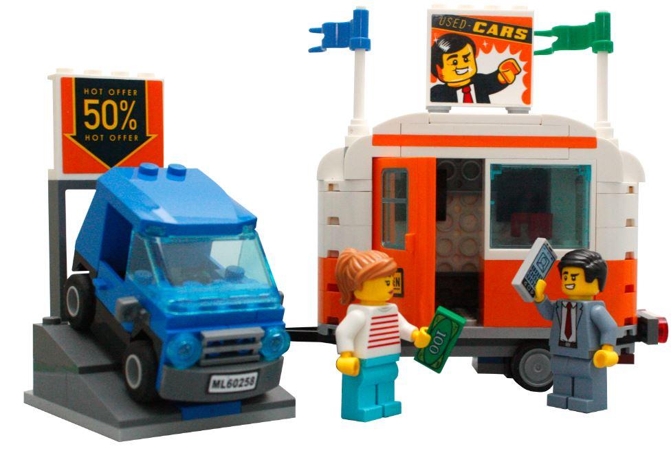 Geschikt voor LEGO sets:60258 Tuning Workshop, 60246 Politie bureau, 60233 Opening donut winkel, 60257 Benzinestation, 7937 Treinstation, 7939 Trein Cargo