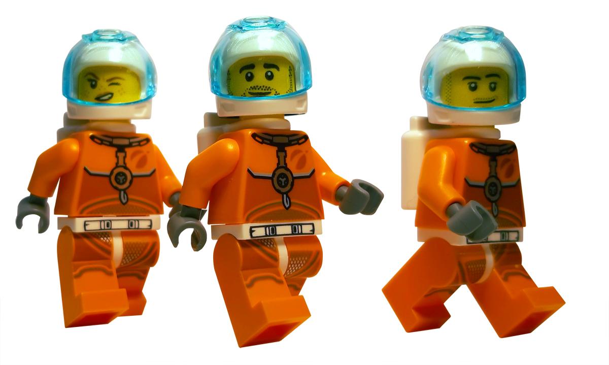 LEGO Ruimte bemanning naar Mars