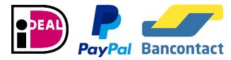 Betalings mogelijkheden bij Speelmat.com iDeal Pay Pal Bancontact