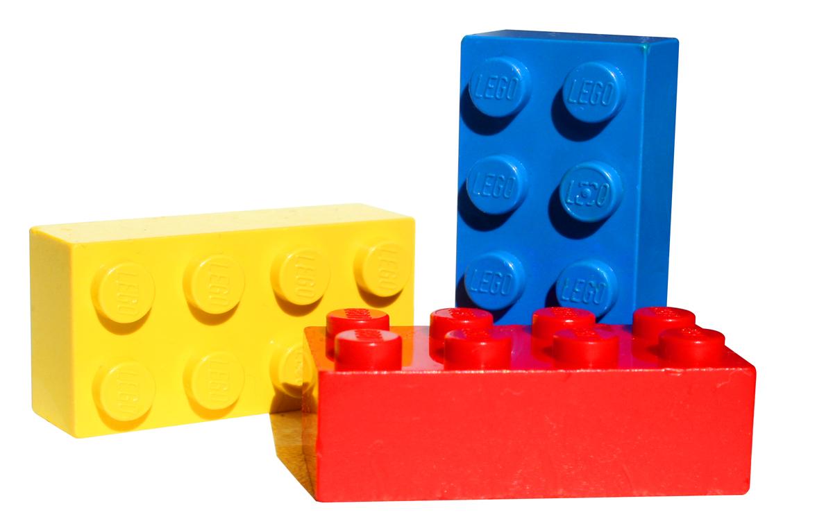 Speelmat voor LEGO blokjes:Veel wegen en groen waarop vrij alle LEGO bouwerken erop geplaatst kan worden.