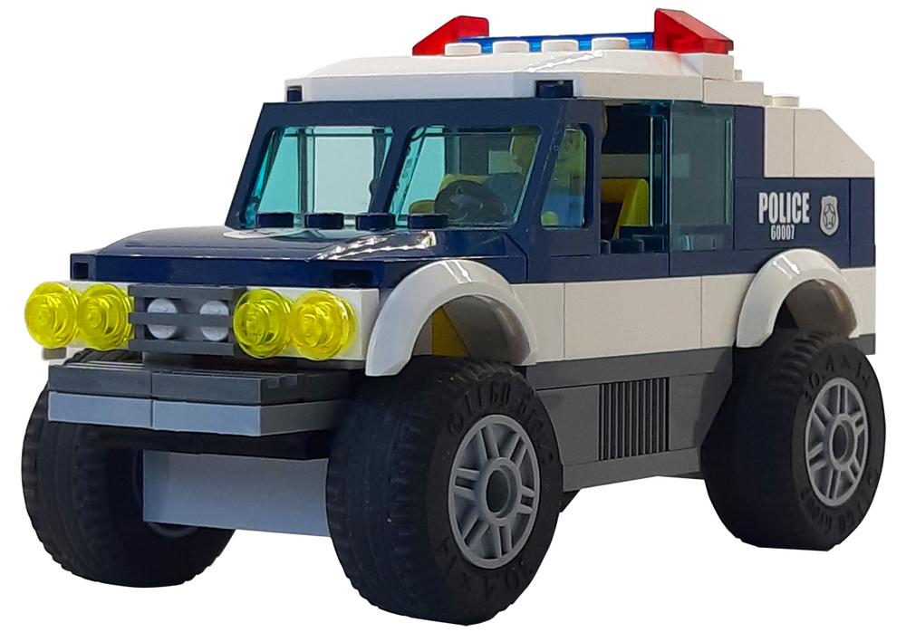 LEGO Politie auto Speelmat