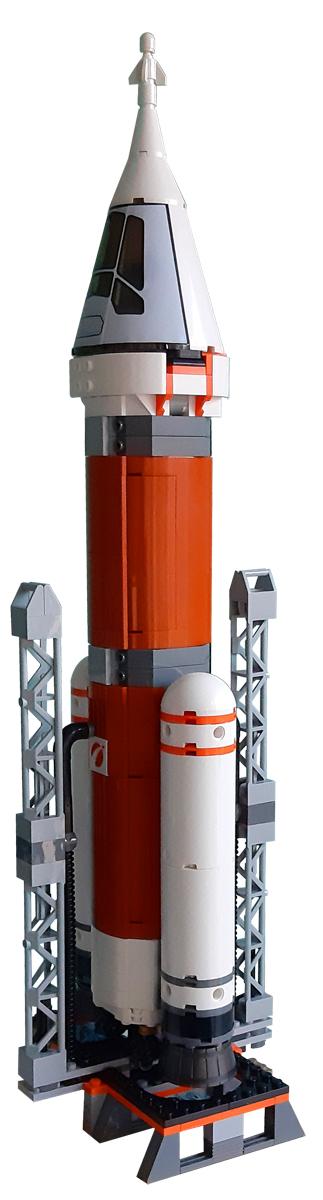 Spielmatte für LEGO 60224 Satelliten-Wartungsmission, LEGO 60225 Rover-Testfahrt, LEGO 60226 Mars-Forschungsshuttle, LEGO 60228 Weltraumrakete mit Kontrollzentrum, LEGO 60229 Raketenmontage und Transport - Bauset. Mit zwei Startplattformen für 'Space Rocket and Flight Control' und 'Rocket Building and Transporting'. Eine schöne Landebahn für das Mars Research Shuttle. Es gibt auch einen Teil des Mars, in den die Mission geht..