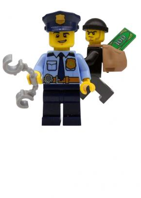 LEGO Politie Speelmat
