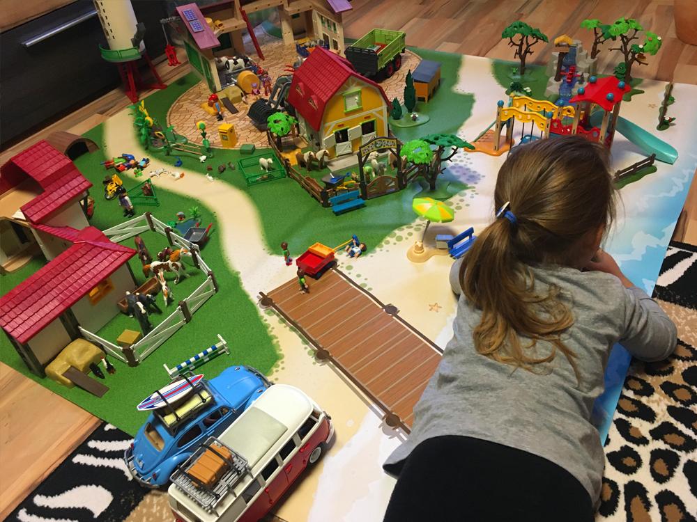 Spielmatte für Playmobil