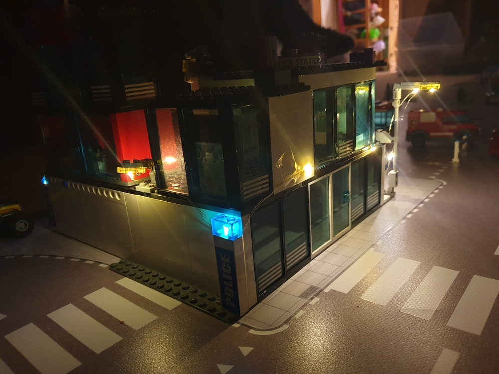 speelmat lego city met lampjes