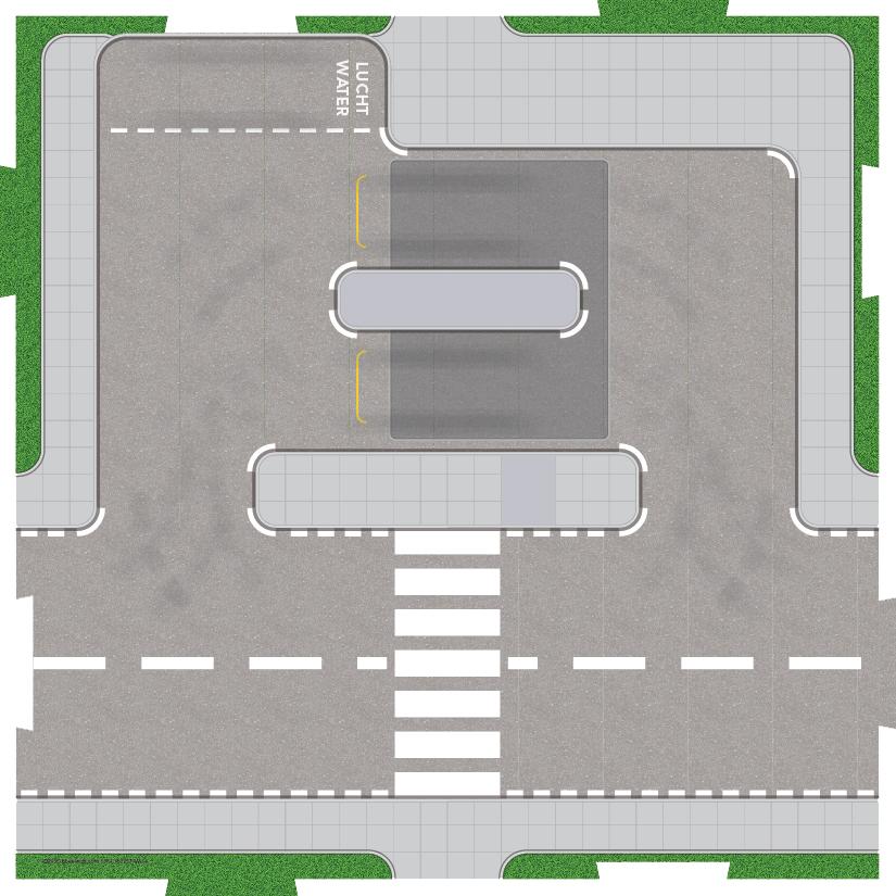 Speelplaat voor LEGO City Benzinestation 60257