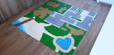 Speelmat voor LEGO Friends Heartlake City nr. 4_