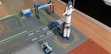 LEGO 60229 space Mars op een speelmat -02