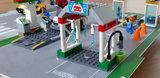 Speelplaat voor LEGO 60257 City Benzinestation