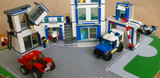 Speelplaat voor LEGO 60246 City Politiebureau