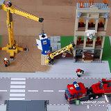 Lego set 60216 Brand op de bouwplaats
