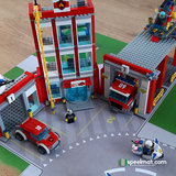 Lego set 60110 Brandweerkazerne