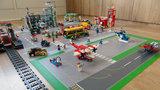 Speelmat voor LEGO City overzicht