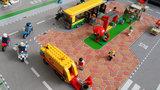LEGO op een sppeemat