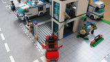 Speelmat voor Lego City plofkraak