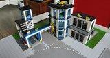 Ondergrond speelmat voor LEGO City