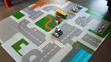 Speelmat design voor LEGO City
