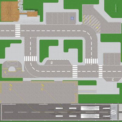 Speelmat voor LEGO City nr.12