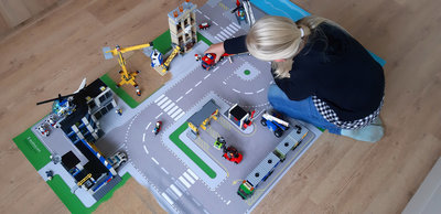 Speelmat voor LEGO City nr.14
