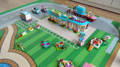 Speelmat voor LEGO Friends Heartlake City