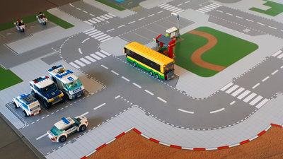 Spielmatte fur Lego sets 60141 en 60110