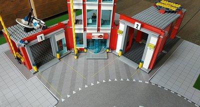 Speelmat voor LEGO voor o.a. sets 60141 en 60110